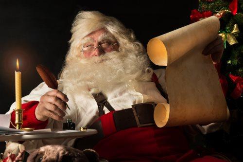 naie pas peur le pre nol ne se fache jamais ensuite numre ta liste de cadeaux demande tes parents lautorisation avant dappeler